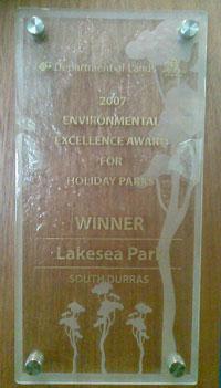 2007 Environmental Excelence Award