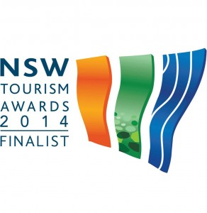 2014 NSW Tourism Awards Finalist Logo